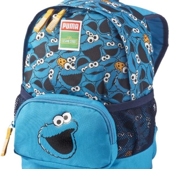 c59b2004d7e Puma X Sesame Street Cookie Monster Kids Backpack